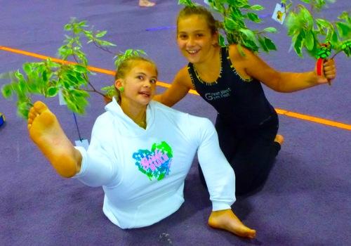 HPTC gymnasts
